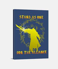 Lienzo Alianza WoW