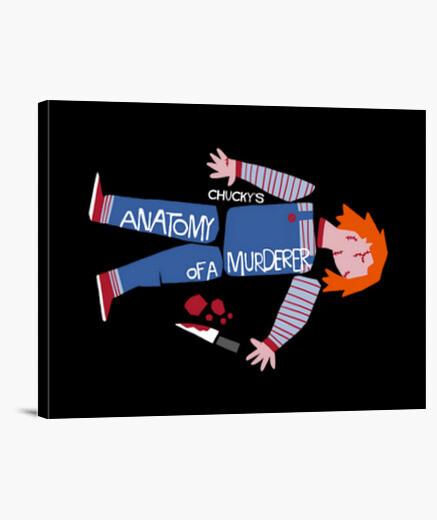 Lienzo Anatomy of Chucky