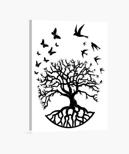 Lienzo árbol vida sabiduría armonía fc