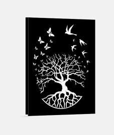 lienzo árbol vida sabiduría armonía fs