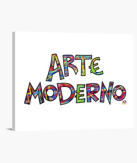 Lienzo Arte Moderno