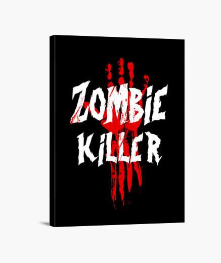 Lienzo asesino de zombies
