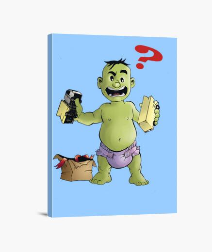 Lienzo Baby Hulk