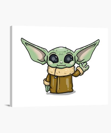 Lienzo Baby Yoda