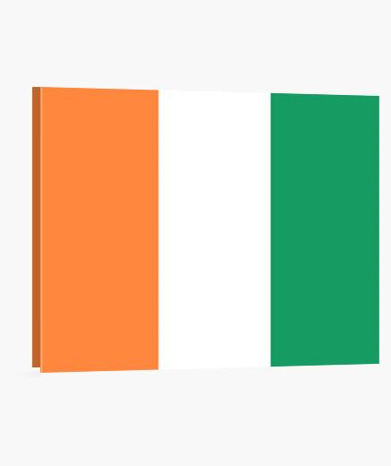 Lienzo Bandera de Irlanda