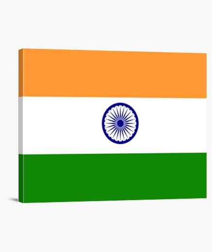 Lienzo Bandera de la India