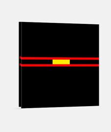 Lienzo BANDERA Y.ES_035A_2019_bandera