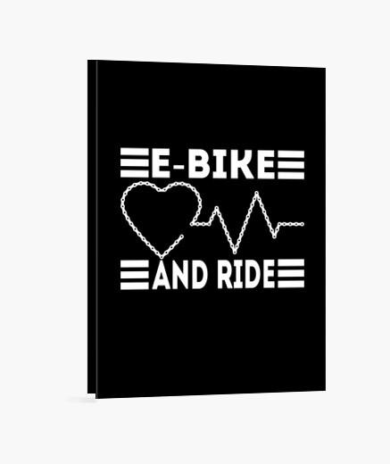 Lienzo bicicleta bicicleta de montaña...