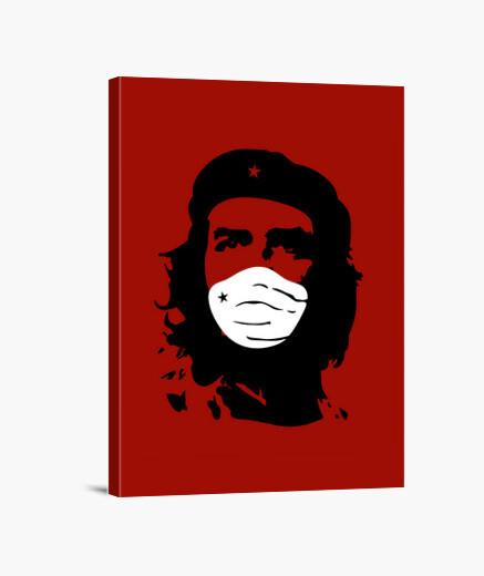 Lienzo Che Guevara Mascarilla