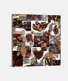 Lienzo CHOCOLATE 057A 2019 Chocolate