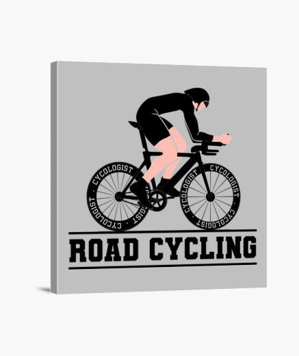 Lienzo Ciclista ciclista ciclista de...