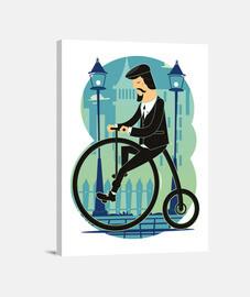 Lienzo Ciclistas Bicicletas Ciclismo