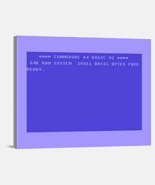 Lienzo Commodore 64