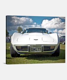 Lienzo Corvette