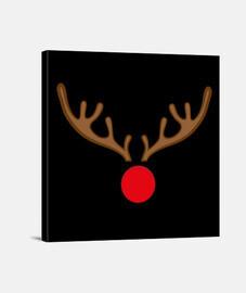 Lienzo Cuadrado 1:1 - (40 x 40 cm) Rudolf