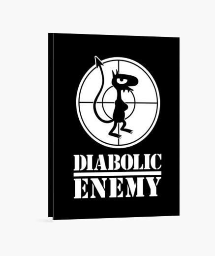 Lienzo Diabolic Enemy
