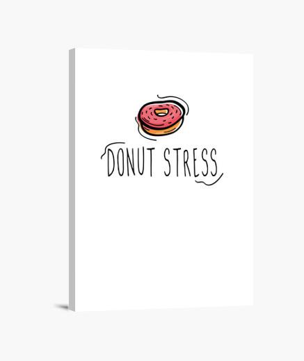 Lienzo donut estrés