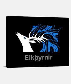 Lienzo EIKTHYRNIR Y.ES_003A_2019_Eikþyrnir