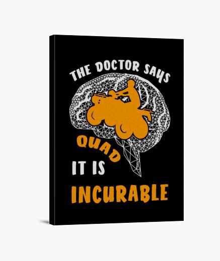 Lienzo el doctor dice que no hay cura