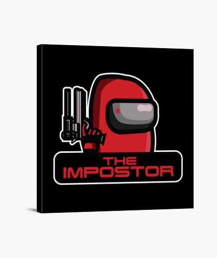 Lienzo el impostor
