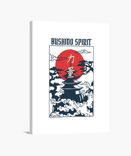 Lienzo espíritu bushidp