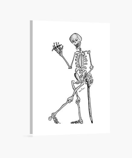 Lienzo Esqueleto
