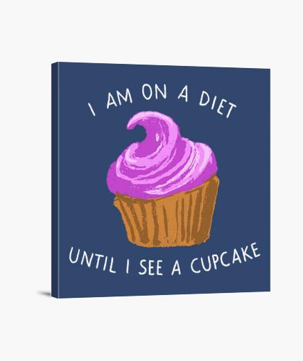 Lienzo estoy en una dieta hasta que veo...