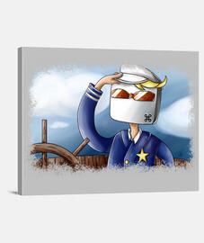 Lienzo Fail #44: Capitan Comando