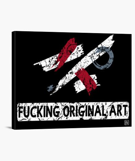 Lienzo Fucking Original Art