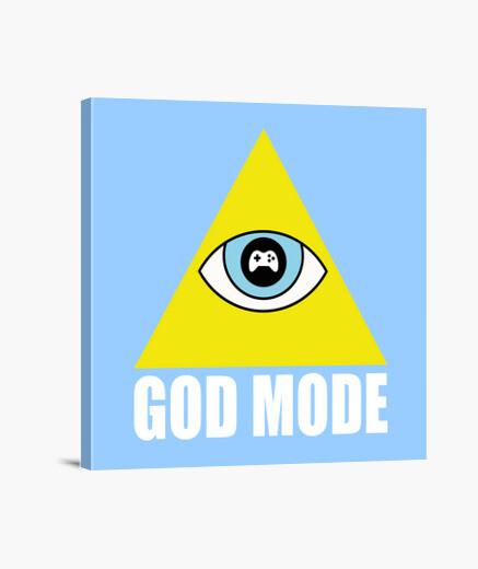 Lienzo God Mode Gaming