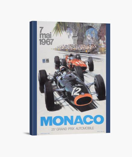 Lienzo Gran Premio de Monaco