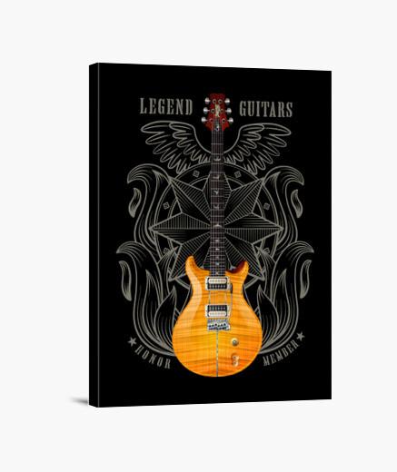 Lienzo Guitarra eléctrica PRS Santana...