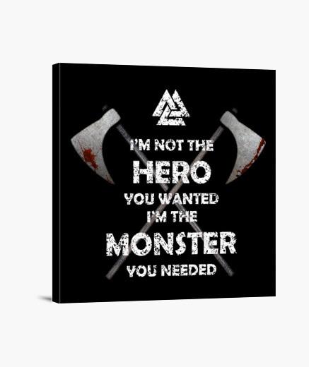 Lienzo HERO MONSTER Y.ES_051A_2019_Hero Monster