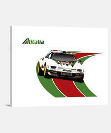 Lienzo Horizontal 4:3 - (40 x 30 cm)  Lancia Stratos
