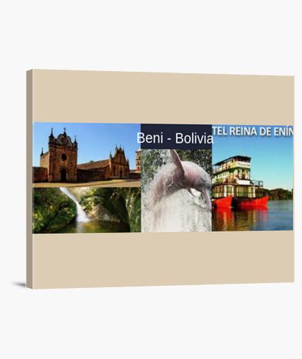 Lienzo Horizontal 4:3 - (40 x 30 cm) Beni Turismo