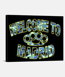 Lienzo Horizontal 4:3 - (40 x 30 cm) Welcome to Madrid