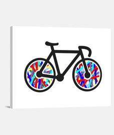 Lienzo Horizontal Bicicleta