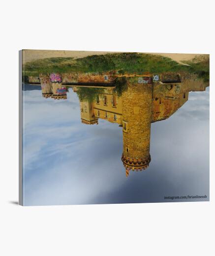 Lienzo Horizontal diseño 'Castle in the Air'