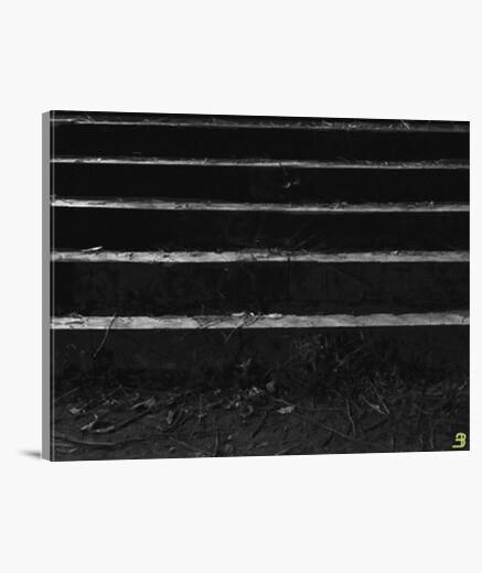 Lienzo Horizontal diseño 'Stairs to the piano'