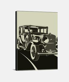 Lienzo Ilustraciones Arte Art Deco Art