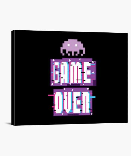Lienzo juego de videojuegos sobre...