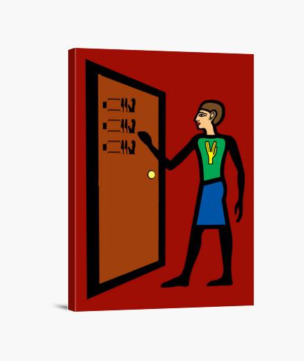 Lienzo Knock knock Penny