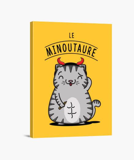 Lienzo la minoutaure