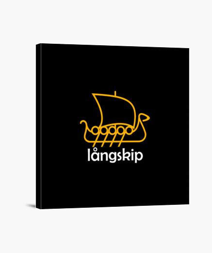 Lienzo LANGSKIP Y.ES_044A_2019_langskip