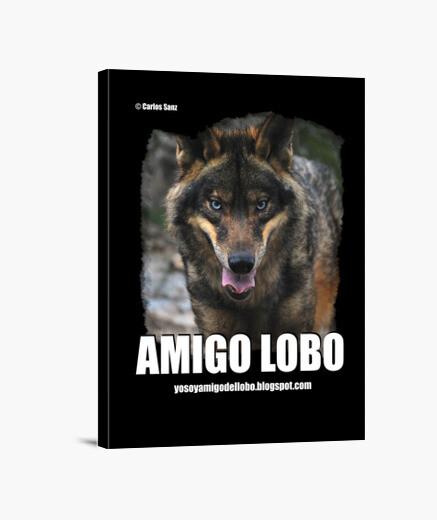 Lienzo Lobo