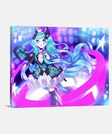 Lienzo Miku Magical Mirai 2019