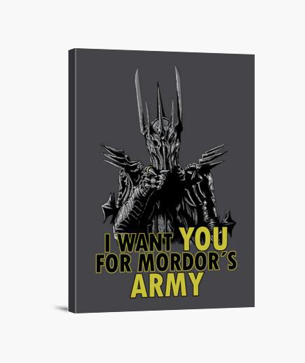 Lienzo Mordor's Army