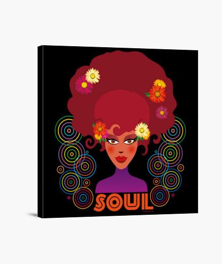 Lienzo Música - Soul Music