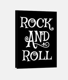Lienzo Música Retro Rock and Roll Vintage Rockabilly Rockers