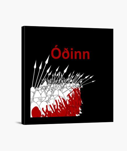 Lienzo ODÍN Y.ES_001A_2019_Odín